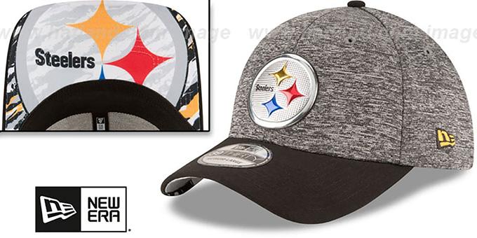 cf40ad51dd8 Pittsburgh Steelers 2016 NFL DRAFT FLEX Hat by New Era