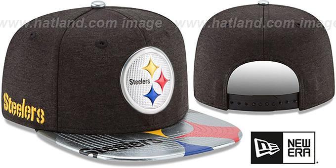 czech pittsburgh steelers pro standard nfl woodland strapback cap ... 59c43b08f