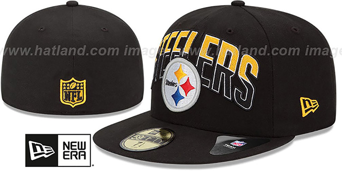 920128a3e Steelers  NFL 2013 DRAFT  Black 59FIFTY Fitted Hat by New Era