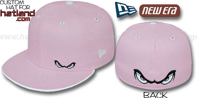 Storm 'FLAWLESS' Fitted Hat by New Era - pink : pictured without stickers that these products are shipped with
