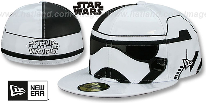 Storm Trooper 'THE LAST JEDI CHARACTER FACE' Fitted Hat by New Era