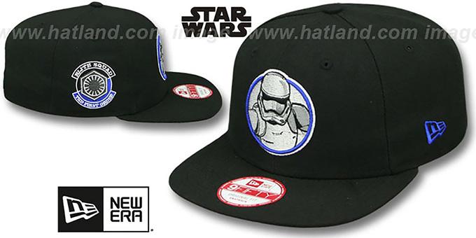 9c1e03b98f5ea Star Wars Storm Trooper VII RETROFLECT SNAPBACK Black Hat
