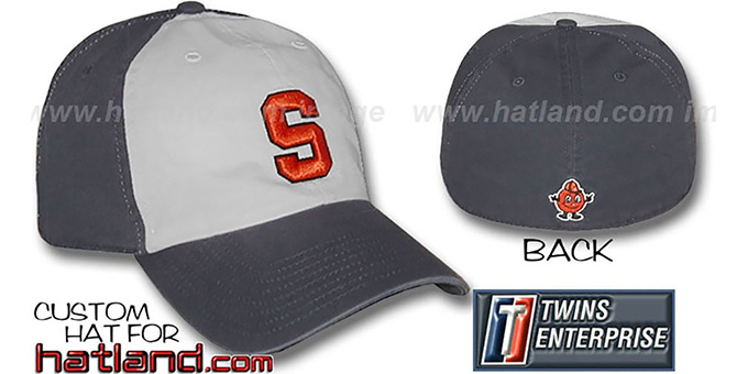 Syracuse RETRO 'FRANCHISE' Hat by Twins : pictured without stickers that these products are shipped with