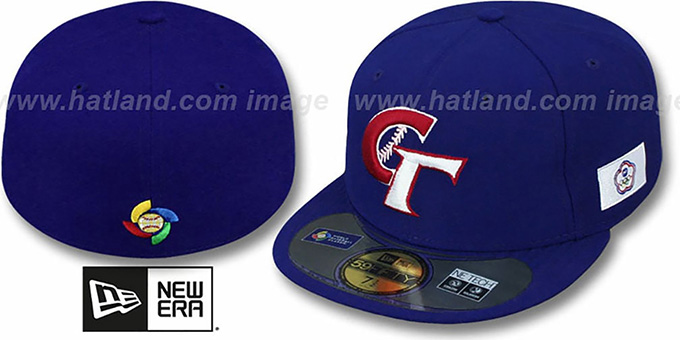 Taipei 'PERFORMANCE WBC' Royal Hat by New Era : pictured without stickers that these products are shipped with