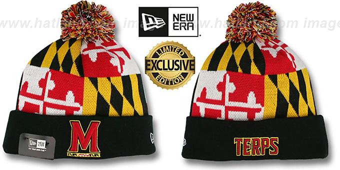 Maryland Flag' Knit Beanie