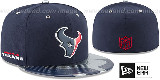 newest ec616 da81e Texans  2017 SPOTLIGHT  Fitted Hat by ...