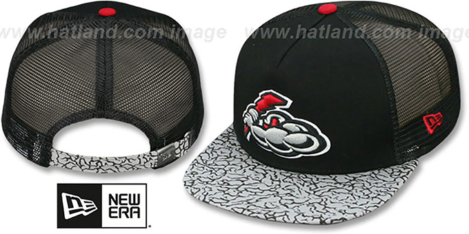 Thunder 'ELEPHANT-HOOK STRAPBACK' Hat by New Era : pictured without stickers that these products are shipped with