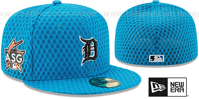low priced c5853 7950e Tigers  2017 MLB HOME RUN DERBY  Blue Fitted Hat by New Era