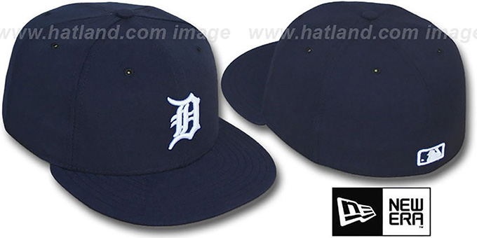 Tigers 'PERFORMANCE HOME' Hat by New Era : pictured without stickers that these products are shipped with