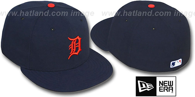 Tigers 'PERFORMANCE ROAD' Hat by New Era : pictured without stickers that these products are shipped with