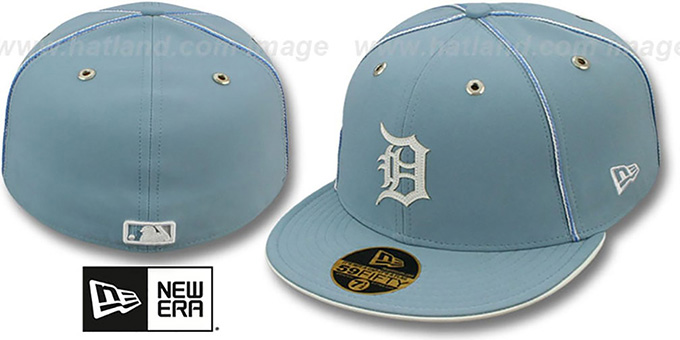 Tigers 'SKY BLUE DaBu' Fitted Hat by New Era : pictured without stickers that these products are shipped with