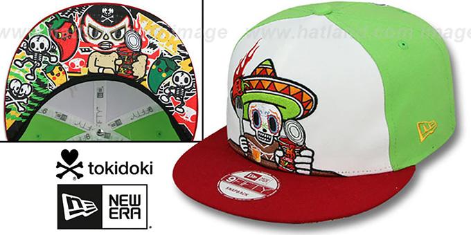 TokiDoki HOT SHOT SNAPBACK Hat by New Era 3f781770994