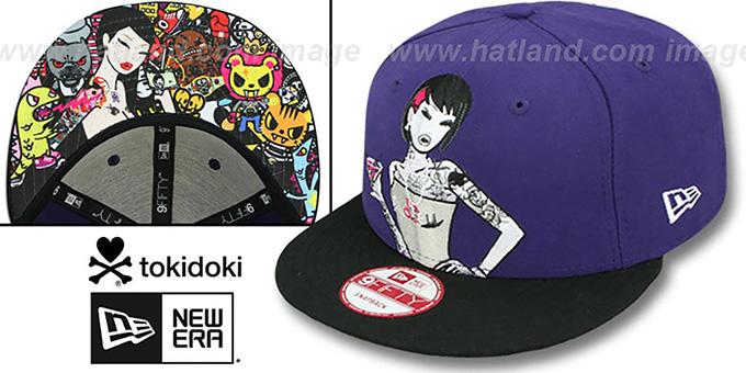 7994173140159 TokiDoki  HAPPY HOUR SNAPBACK  Hat by New Era