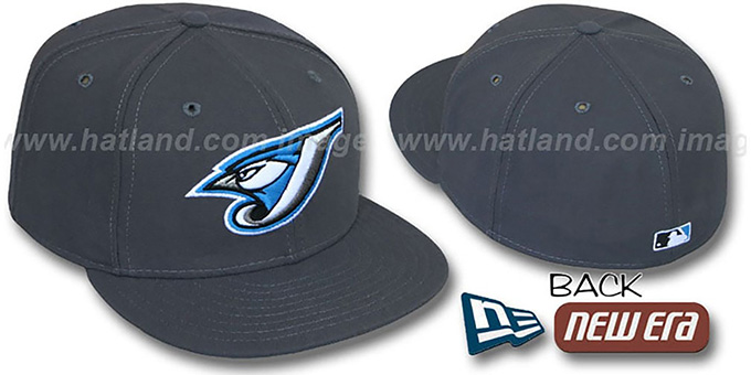 Toronto Blue Jays 2004 'GAME' Hat by New Era : pictured without stickers that these products are shipped with