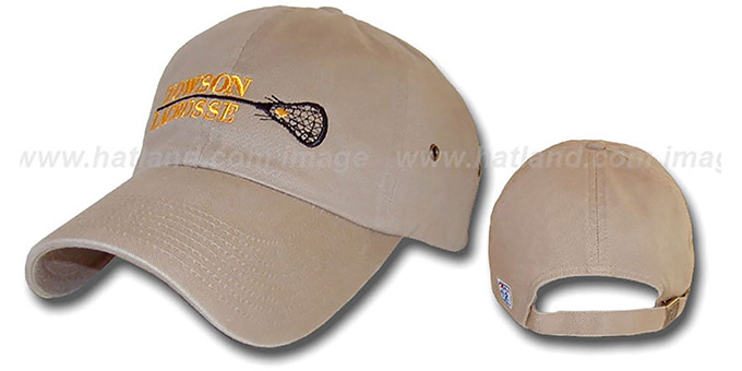 Towson 'SINGLE STICK' Hat by The Game : pictured without stickers that these products are shipped with
