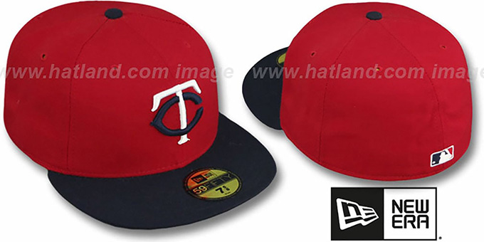 Twins 2009 'ALTERNATE GAME' Hat by New Era : pictured without stickers that these products are shipped with