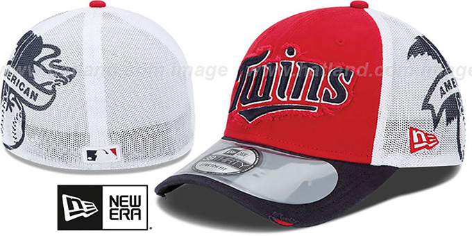 Twins '2013 CLUBHOUSE' 39THIRTY Flex Hat by New Era : pictured without stickers that these products are shipped with