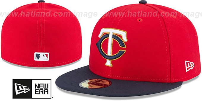 new product 98c0a 1184f Twins  AC-ONFIELD ALTERNATE-2  Hat by New Era