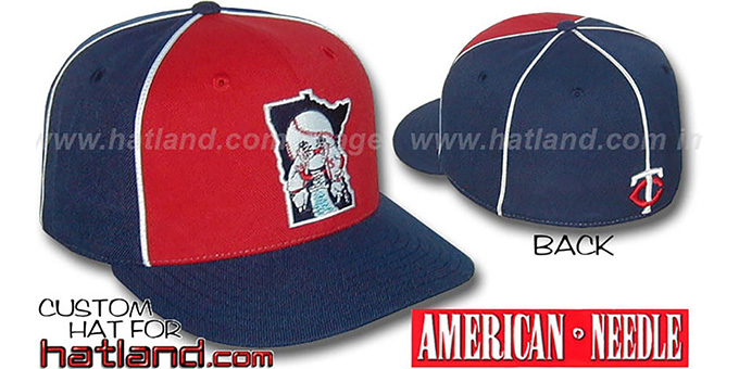 Twins Cooperstown 'BACKTRAX' Hat by Amercan Needle : pictured without stickers that these products are shipped with
