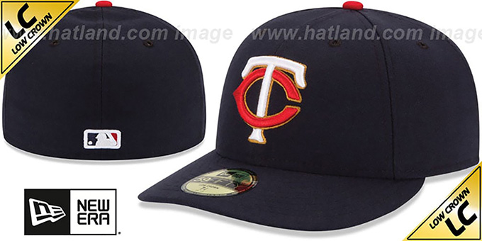 best service e1c90 c88ed Twins  LOW-CROWN  ALTERNATE Fitted Hat by New Era
