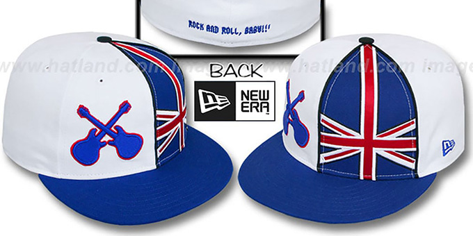 United Kingdom 'FORTISSIMO' Fitted Hat by New Era : pictured without stickers that these products are shipped with