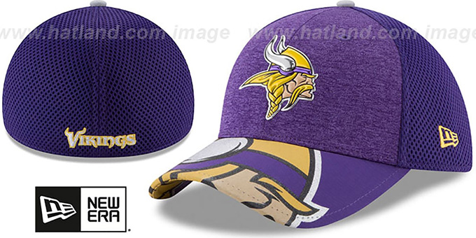 Minnesota Vikings 2017 NFL ONSTAGE FLEX Hat by New Era 3710a855c88
