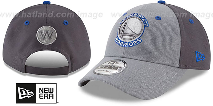 Warriors 'THE-LEAGUE GREY-POP STRAPBACK' Hat by New Era