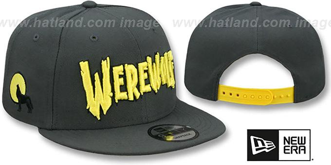 436e72172f8c4 Werewolf  HALLOWEEN COSTUME SNAPBACK  Grey Hat by New Era
