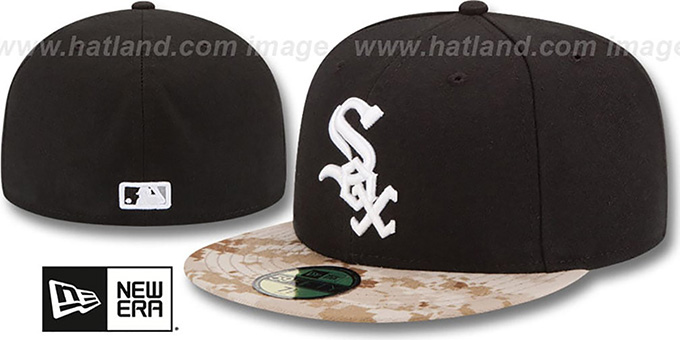 White Sox '2015 STARS N STRIPES' Fitted Hat by New Era : pictured without stickers that these products are shipped with