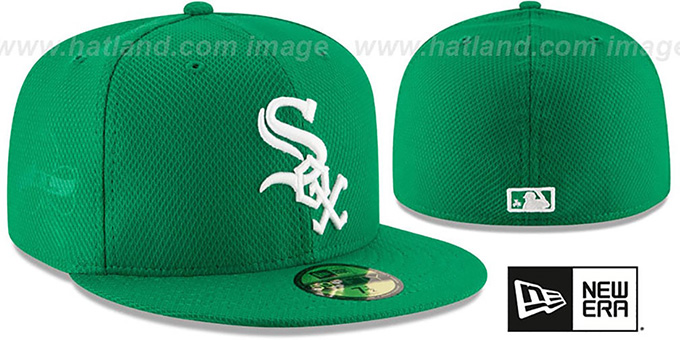 White Sox '2016 ST PATRICKS DAY' Hat by New Era : pictured without stickers that these products are shipped with