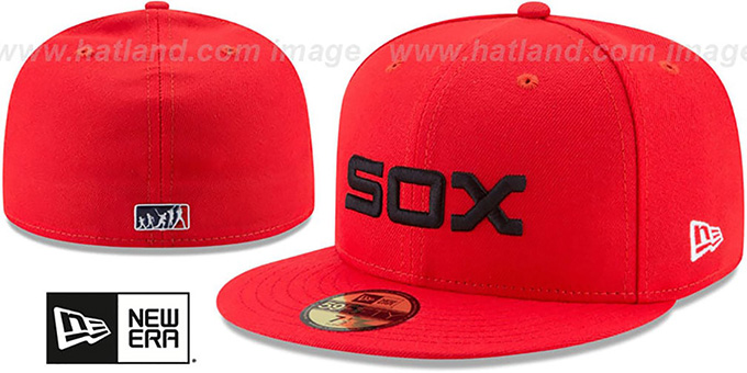 White Sox  2017 MLB LITTLE-LEAGUE  Red Fitted Hat by ... b74a6b61f1cb