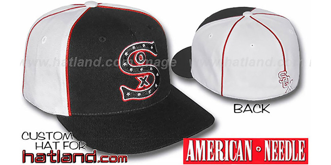 White Sox Cooperstown 'BACKTRAX' Hat by Amercan Needle : pictured without stickers that these products are shipped with