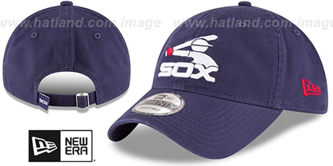 White Sox 'COOP CORE-CLASSIC STRAPBACK' Navy Hat by New Era