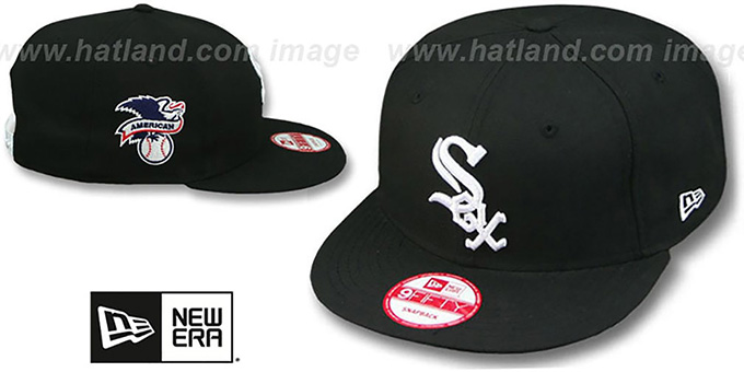White Sox 'LEAGUE REPLICA GAME SNAPBACK' Hat by New Era : pictured without stickers that these products are shipped with