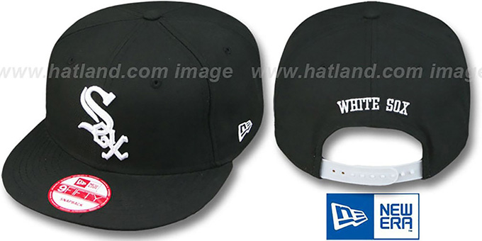 White Sox 'REPLICA GAME SNAPBACK' Hat by New Era : pictured without stickers that these products are shipped with