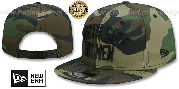 White Sox 'SOUTH SIDE HITMEN SNAPBACK' Army Camo Hat by New Era