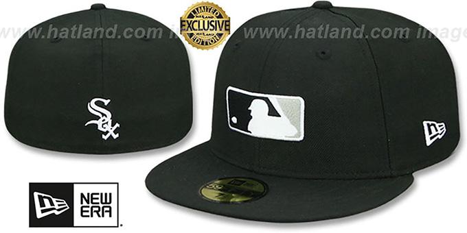 official photos e2bce 3847b White Sox  TEAM MLB UMPIRE  Black Hat by New Era