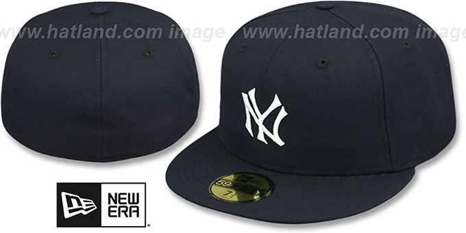 Yankees '1910 COOPERSTOWN' Fitted Hat by New Era : pictured without stickers that these products are shipped with