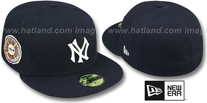 Yankees 1928 'WORLD SERIES GAME'-2 Hat by New Era : pictured without stickers that these products are shipped with