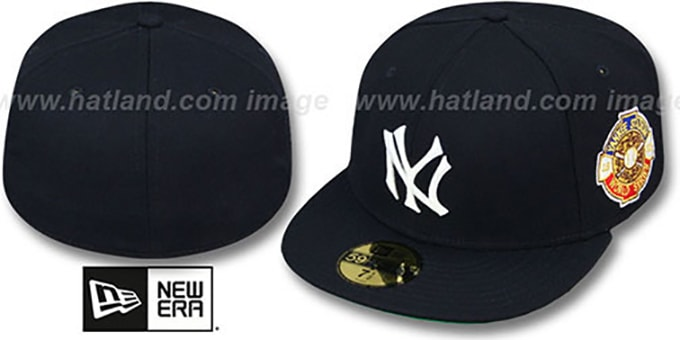 Yankees 1932 'WORLD SERIES CHAMPS' GAME Hat by New Era : pictured without stickers that these products are shipped with