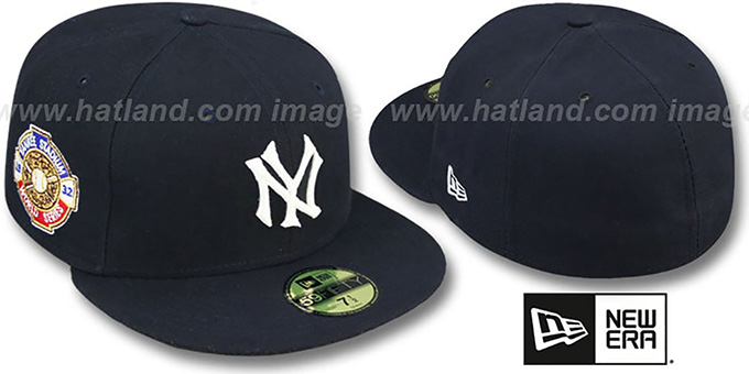 Yankees 1932 'WORLD SERIES GAME'-2 Hat by New Era : pictured without stickers that these products are shipped with