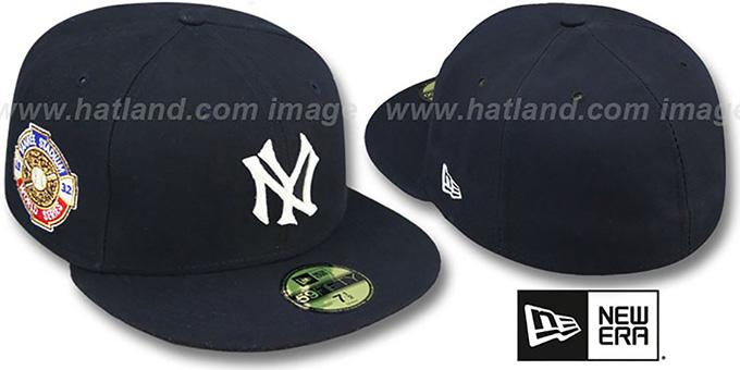 3b7828827e9 New York Yankees 1932 WORLD SERIES GAME-2 Hat by New Era
