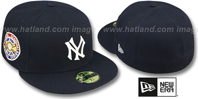 Yankees 1936 'WORLD SERIES GAME'-2 Hat by New Era : pictured without stickers that these products are shipped with