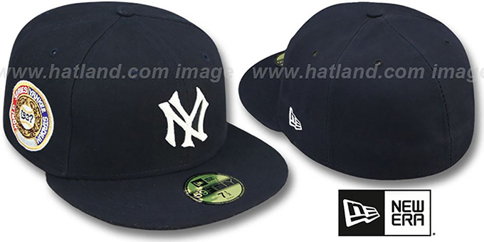Yankees 1937 'WORLD SERIES GAME'-2 Hat by New Era : pictured without stickers that these products are shipped with