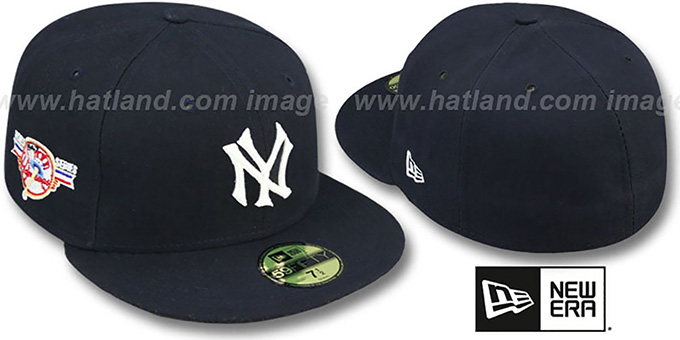 Yankees 1947 'WORLD SERIES GAME'-2 Hat by New Era : pictured without stickers that these products are shipped with