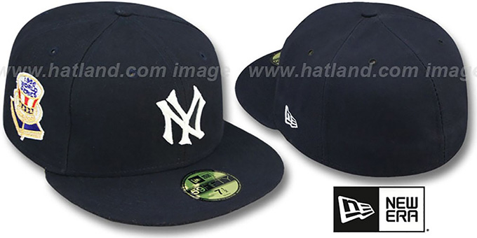 Yankees 1956 'WORLD SERIES GAME'-2 Hat by New Era : pictured without stickers that these products are shipped with