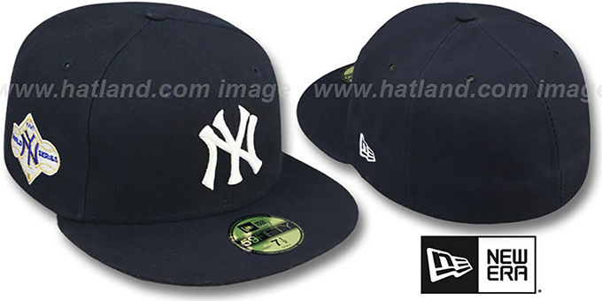 Yankees 1958 'WORLD SERIES GAME'-2 Hat by New Era : pictured without stickers that these products are shipped with