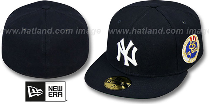 Yankees 1962 'WORLD SERIES CHAMPS' GAME Hat by New Era : pictured without stickers that these products are shipped with