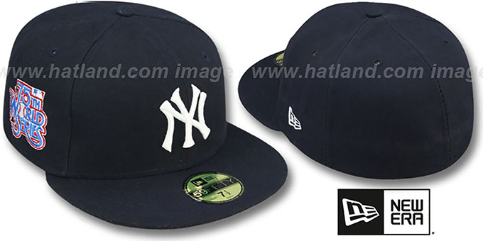 Yankees 1978 'WORLD SERIES GAME'-2 Hat by New Era : pictured without stickers that these products are shipped with
