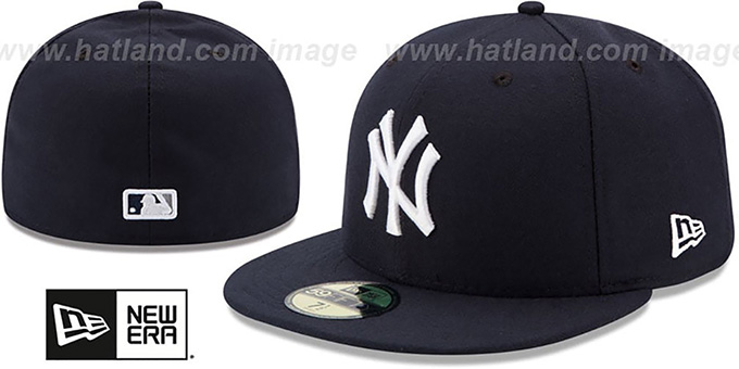 Yankees '2017 ONFIELD GAME' Hat by New Era : pictured without stickers that these products are shipped with